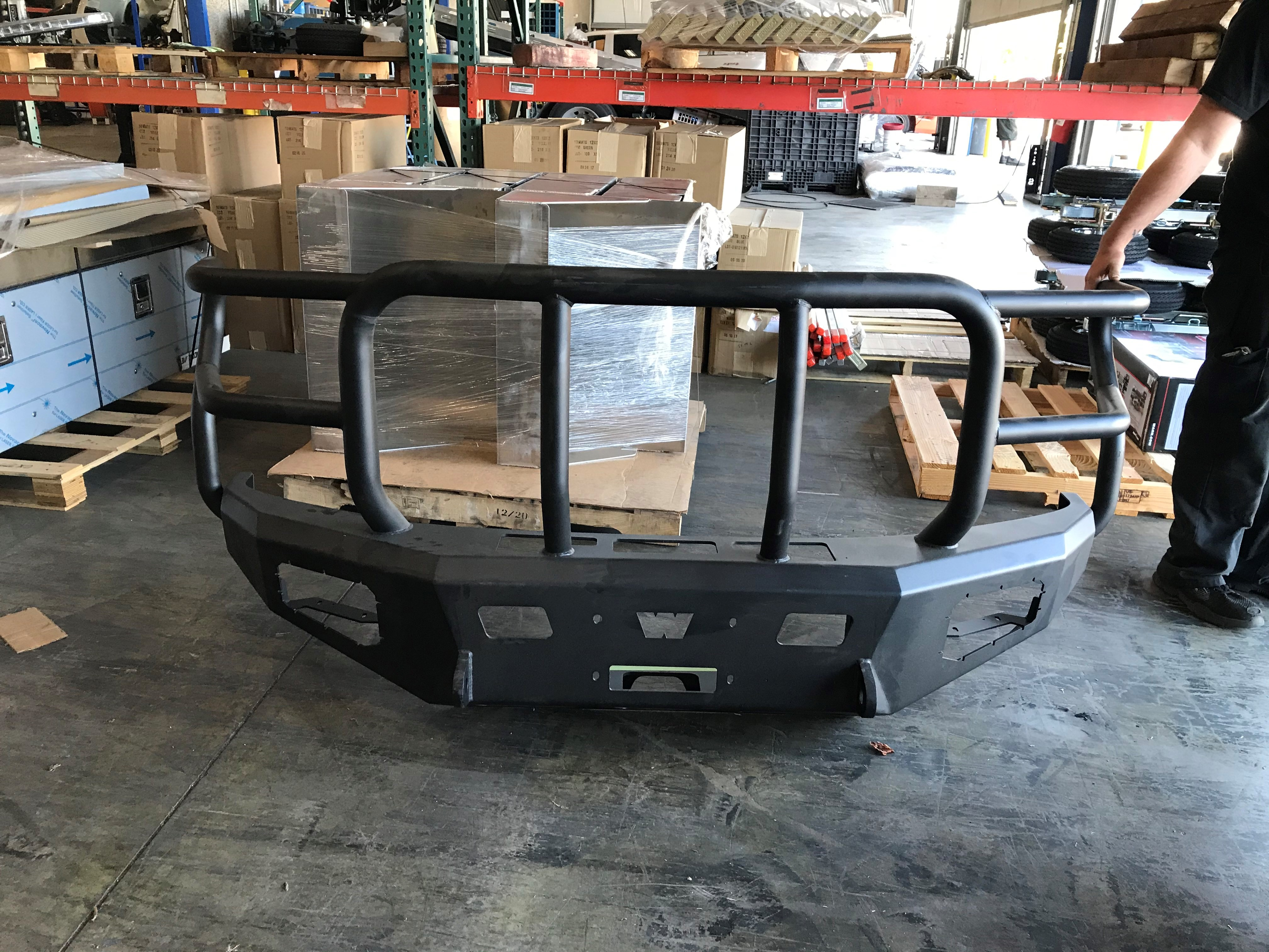2020 Warn Winch Bumper