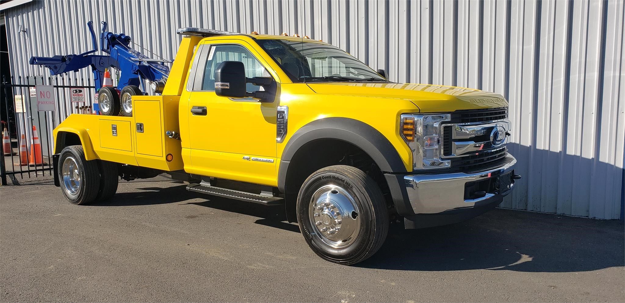 2019 FORD F550 SD