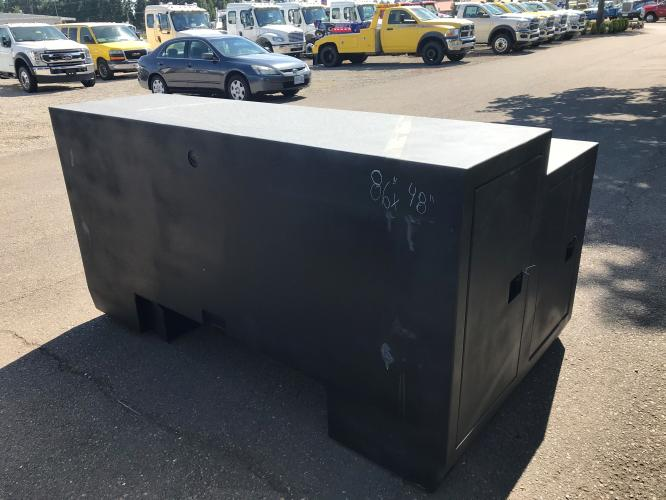 48 x 86 Wide Steel Step Up Tunnel Box