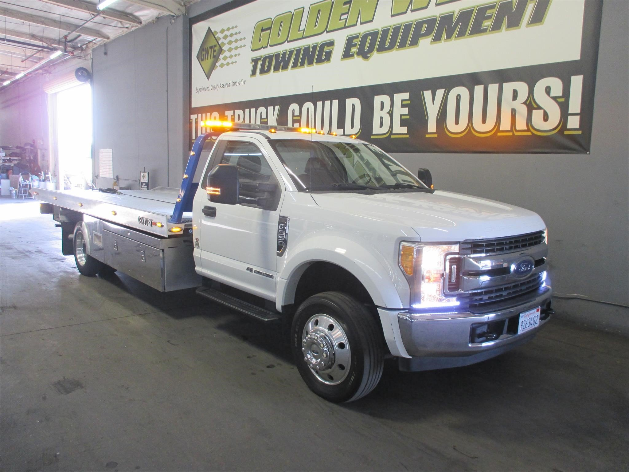 2017 FORD F550 SD