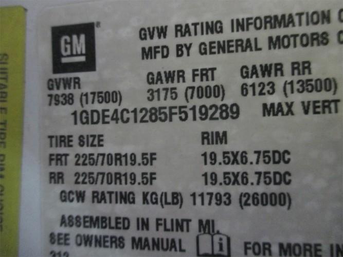 GMC TOPKICK C4500