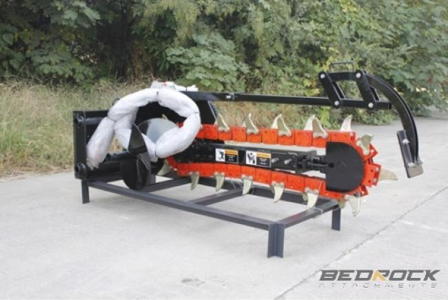 Hydraulic Trencher