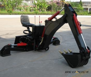 Bedrock Backhoe Attachments
