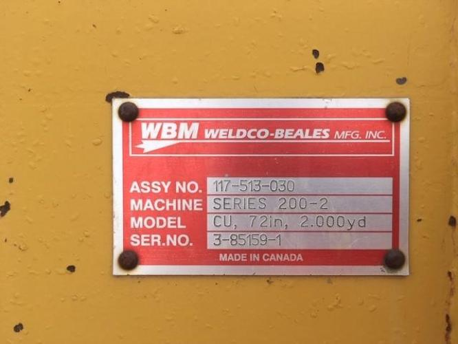 WELDCO BEALES MFG 117-513-030