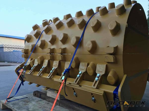 HW Attachments Pad Foot Shell Kits fit CAT CS54 CS533E Roller