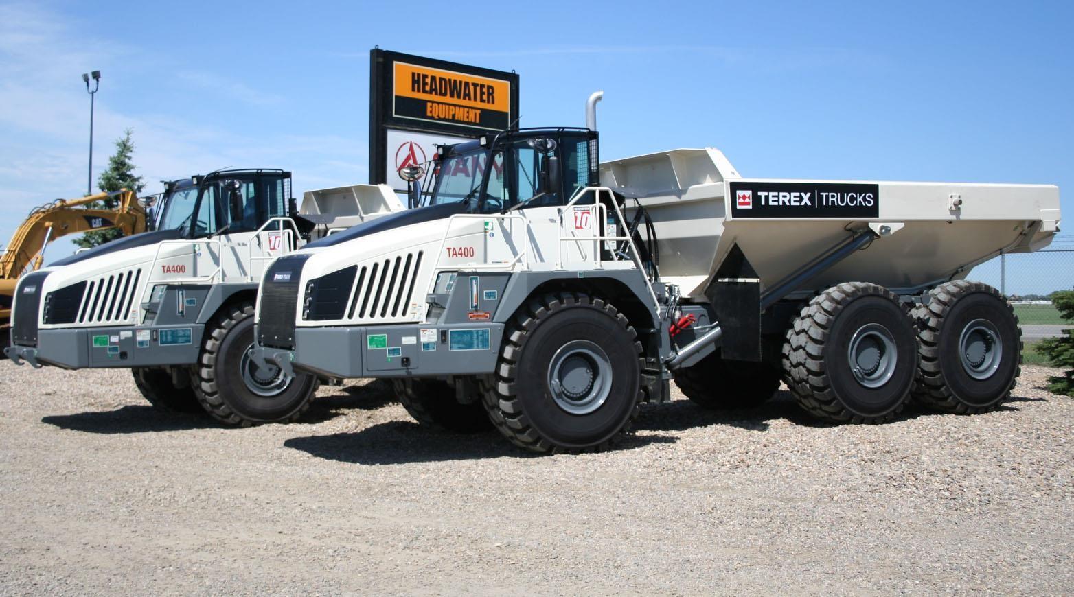 2020 TEREX TA400