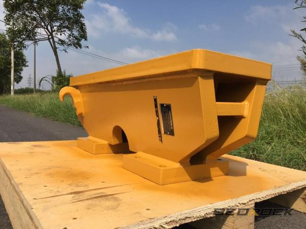 HW Attachments Push Block fits CAT 12G 140G Motor Grader