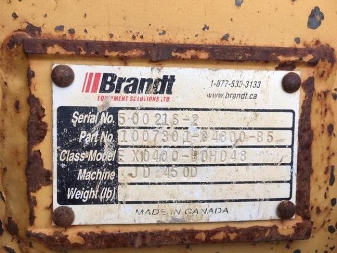 BRANDT 1007301-04800-B5