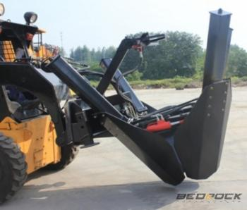 Bedrock 4 Blades Tree Spade Attachments