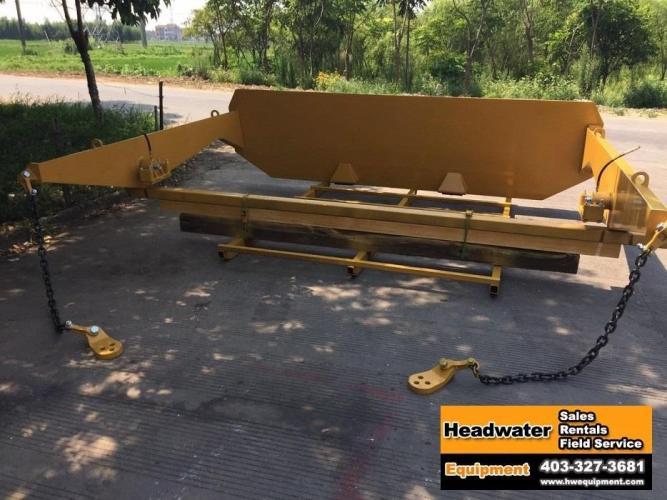 BEDROCK TAILGATE KIT CAT 745C TRUCK 384-7353B