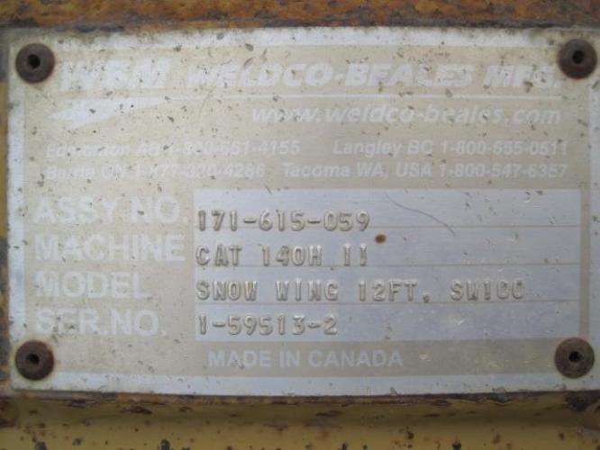 WELDCO BEALES MFG 171-615-059