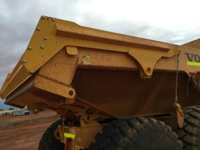 Tailgate fits Volvo A40E A40F Articulated Truck