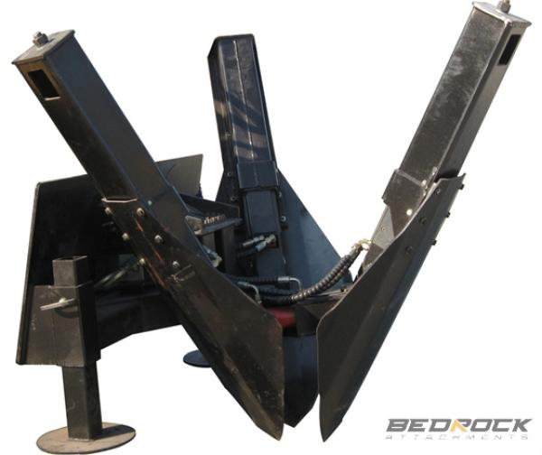 Bedrock 3 Blades Tree Spade Attachments