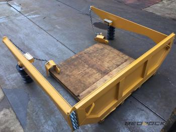 HW Attachments Tailgate 232-0198B fits CAT 735 Articulated Truck