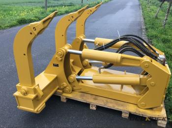 HW Attachments 4 BBL MS Ripper fits Komatsu D65 Bulldozer