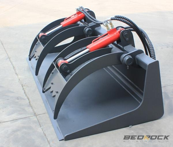 Bedrock Bucket Grapple Attachments