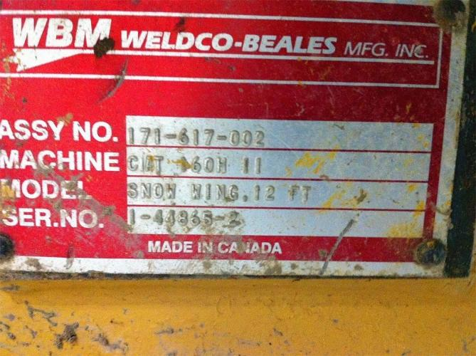 WELDCO BEALES MFG 171-617-002