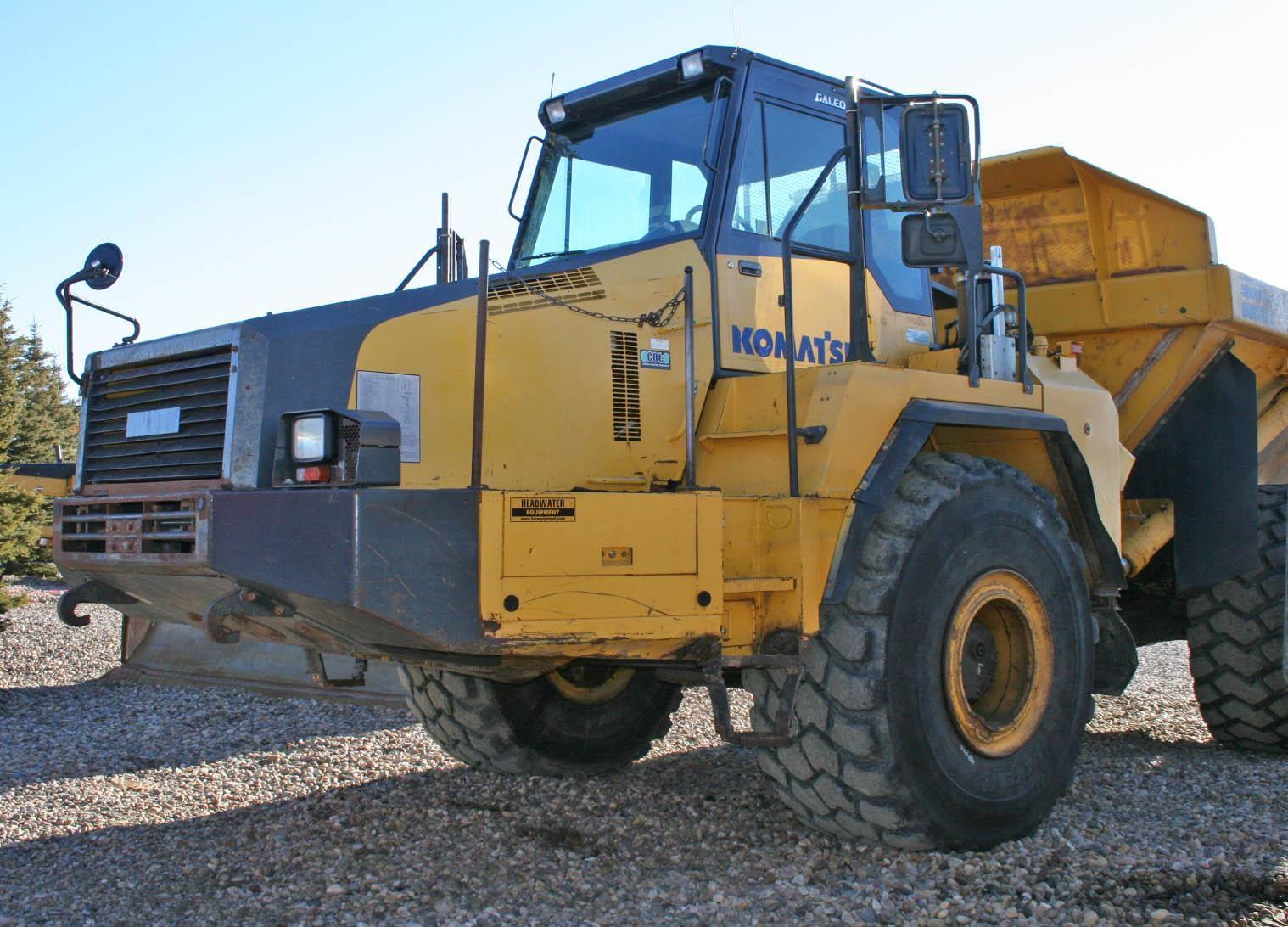 2007 KOMATSU HM400-2
