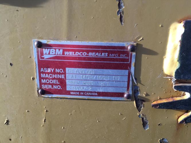 WELDCO BEALES MFG 171-630-001