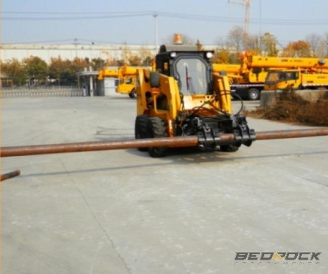 Hydraulic Pipe Grapple