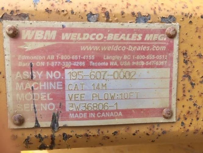WELDCO BEALES MFG 195-607-0002