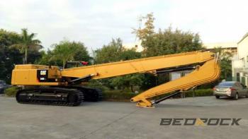HW Attachments Long Reach fits CAT 349D Excavator