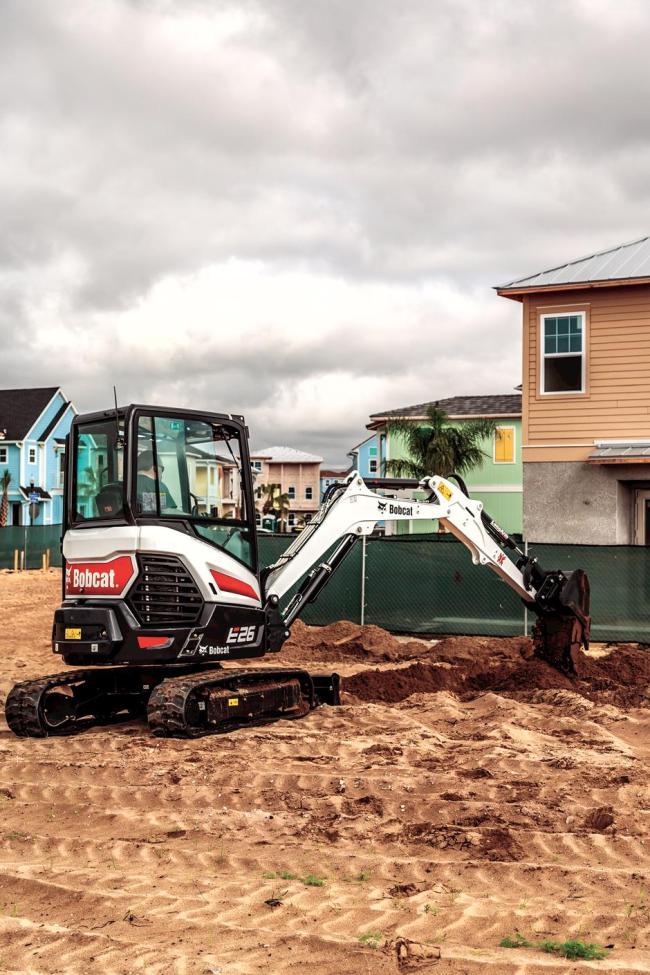 E26 Compact Excavator