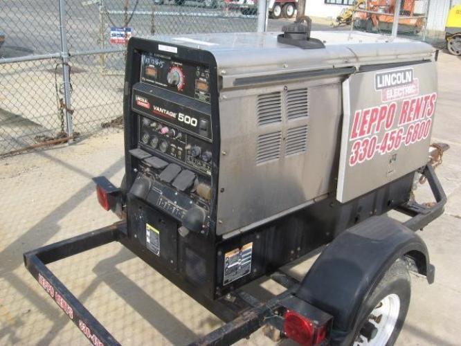 LINCOLN ELECTRIC VANTAGE 500