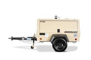 Doosan P185WDO-T4F Portable Air Compressor