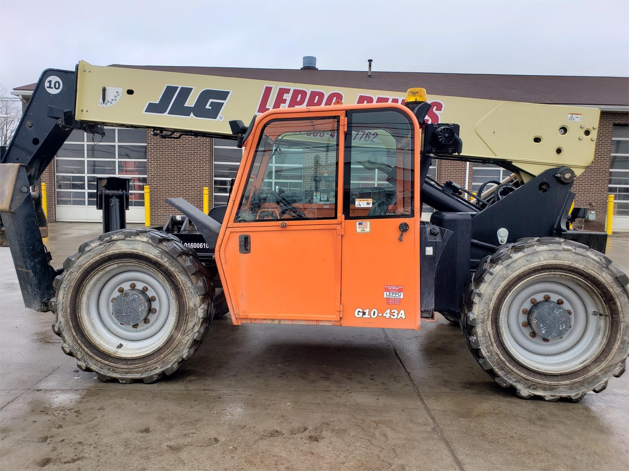 2014 JLG G10-43A