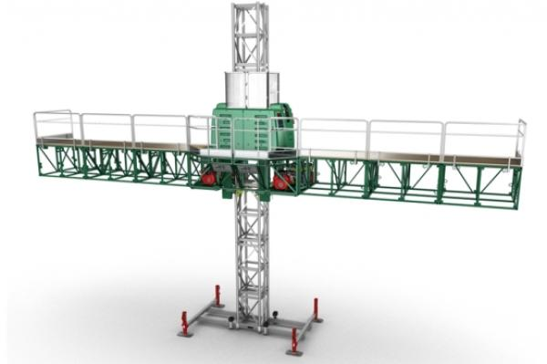 Hydro Mobile F-200 Mast Climbing Platform