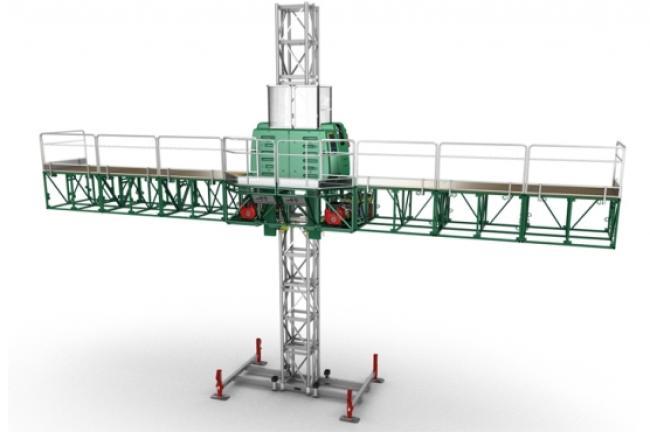 F-200 Mast Climbing Platform