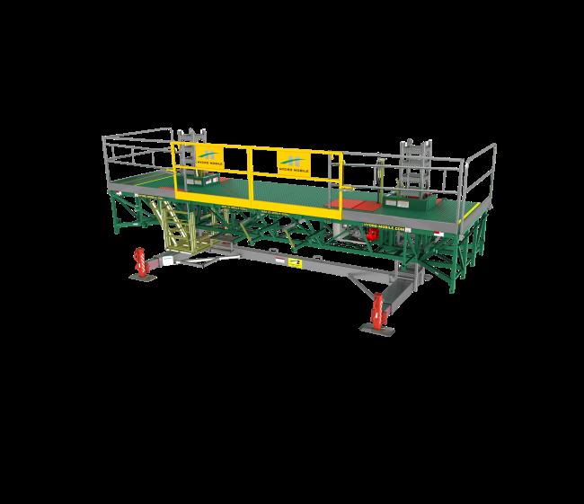 Mast Climbing Platform 24' Unit
