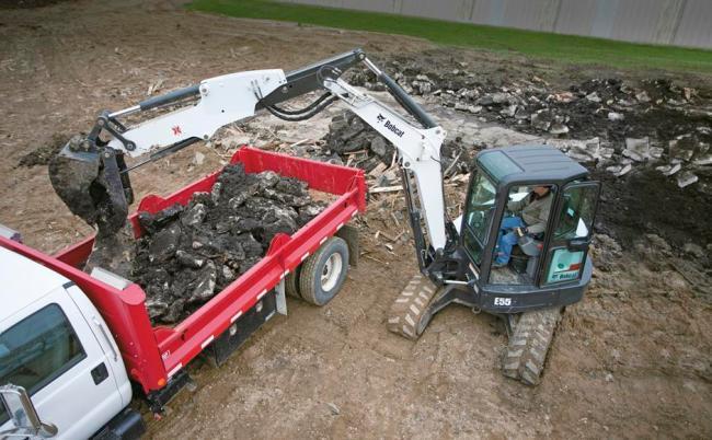 E55 Compact Excavator