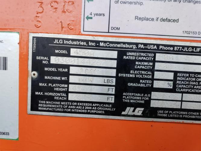 JLG 450A