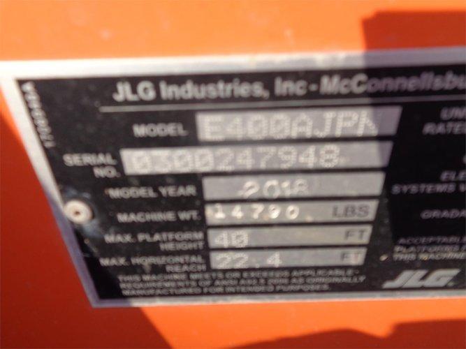 JLG E400AJPN