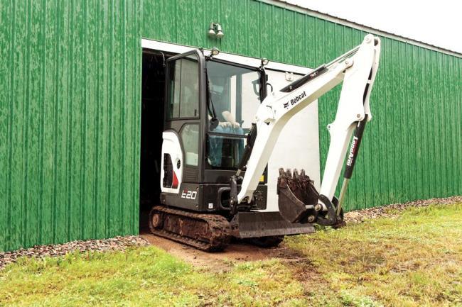 E20 Compact Excavator