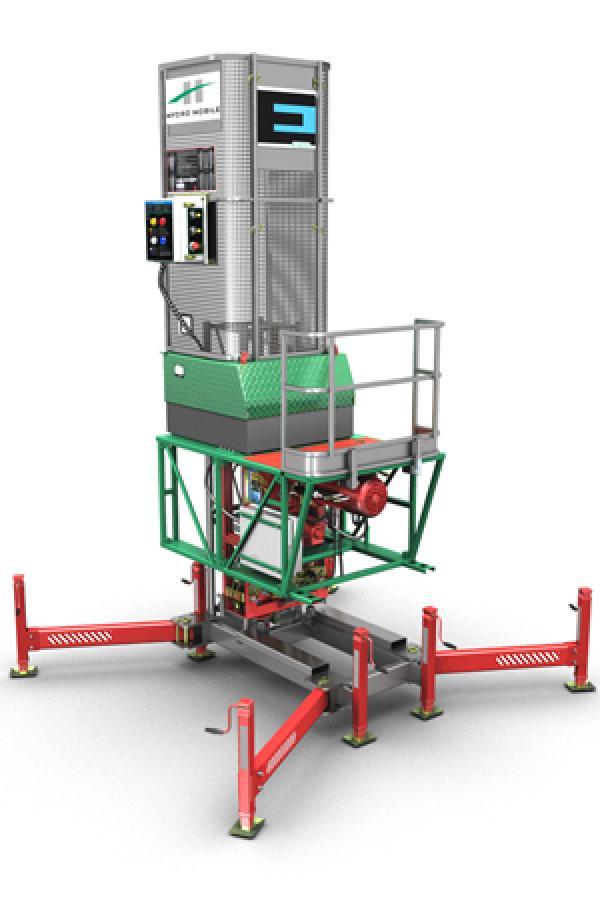 Hydro Mobile E-Series Mast Climbing Work Platform