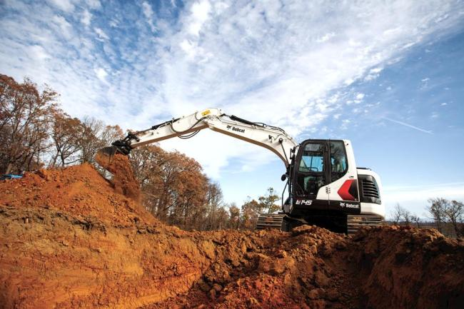 E145 Excavator