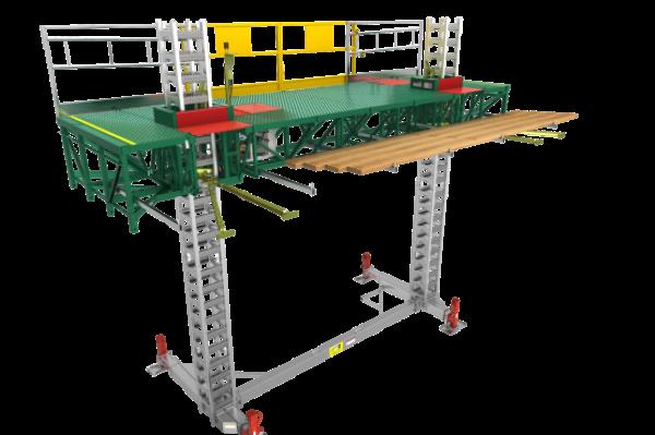 Hydro Mobile Mast Climbing Platform 14' Unit