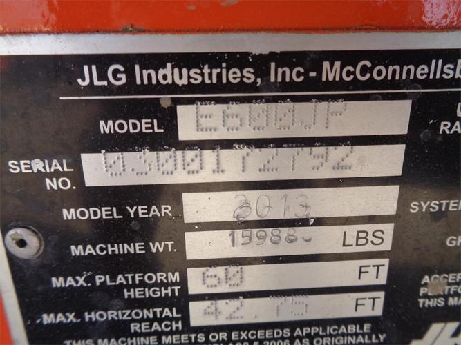 JLG E600JP