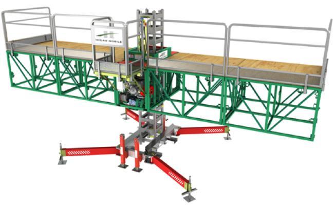 P-Series Mast Climbing Work Platform