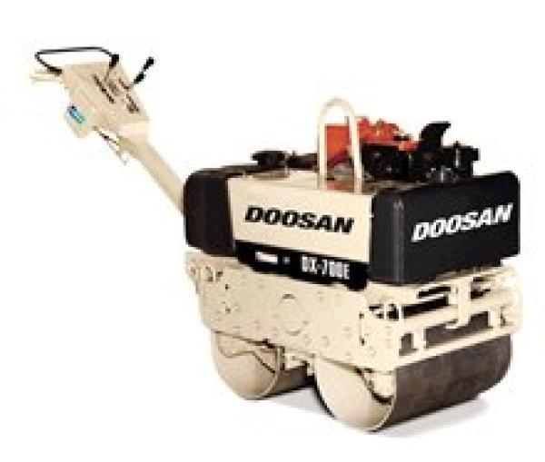 Doosan DX-700E Walk-Behind Vibratory Roller