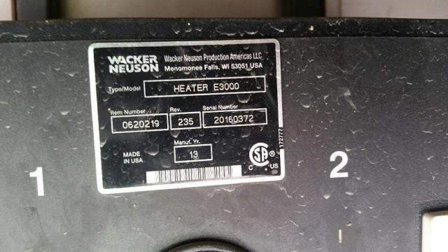 WACKER NEUSON E3000
