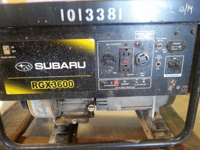 SUBARU RGX3600