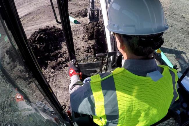 E32 Compact Excavator