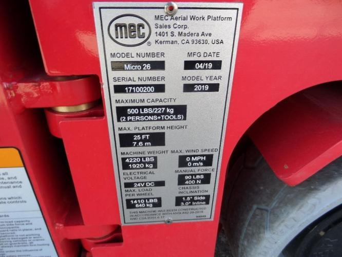 MEC MICRO 26