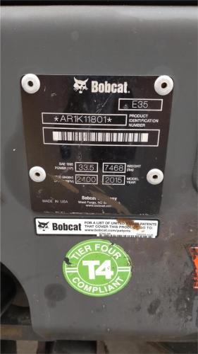 BOBCAT E35