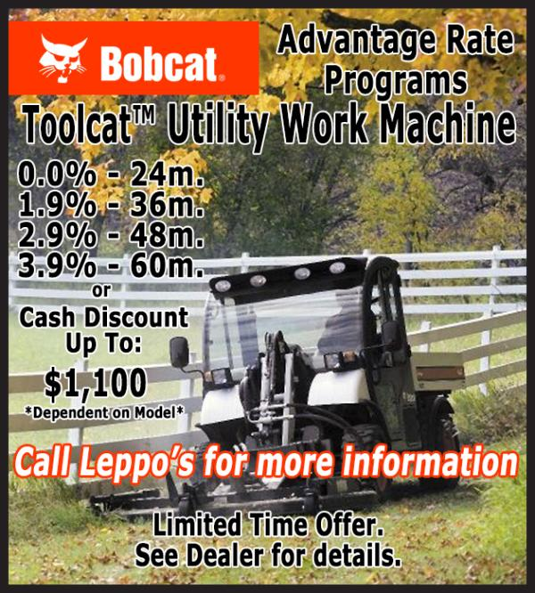 Toolcat Utility Work Machine