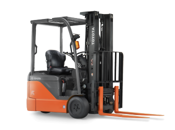 Toyota 3-Wheel Electric Forklift